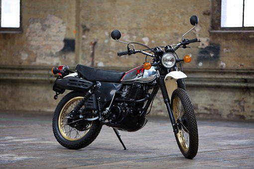 Motorcycle, Yamaha, Xt 500