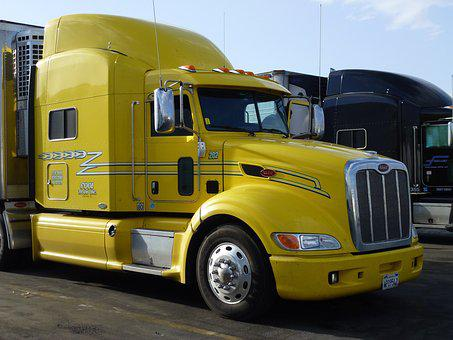 Usa, Transport, Vehicle, Truck, Tractor, America