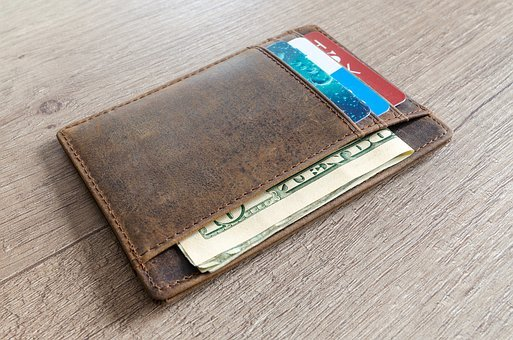 Leather, Finance, Money, Background, Wallet, Cash