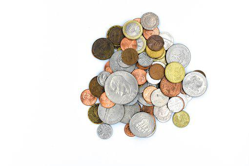 A Wealth Of, Currency, Finance, Bank, Coins, Coin