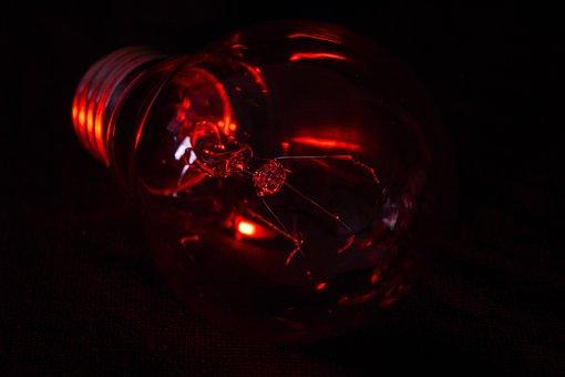 Slightly, Flare-up, Background, Darkness, Energy