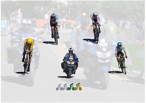 Etape Tour De France, Bourg Saint Andéol, Ardèche, 2016