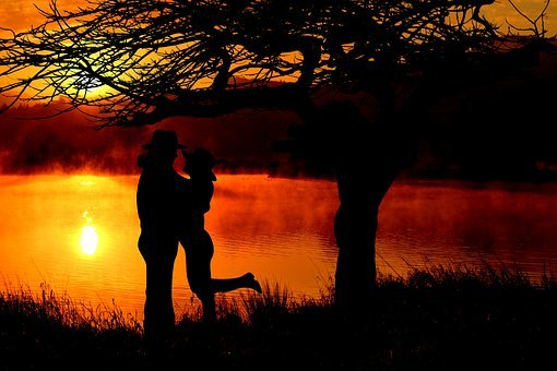 Sunset, Sun, Evening Sky, Setting Sun, Abendstimmung