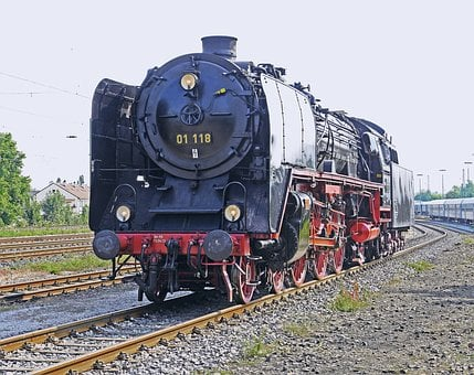 Steam Locomotive, Express Train