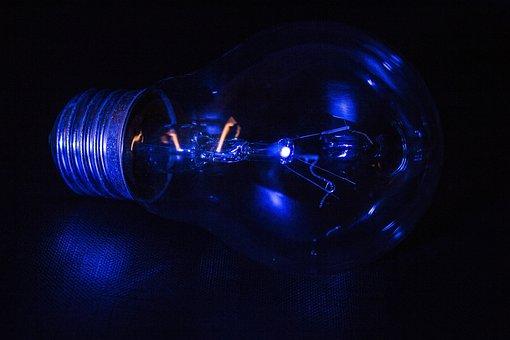 Background, Slightly, Energy, Darkness, Illuminated