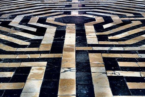 No Person, Model, Travel, Architecture, Maze, Church