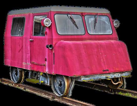 Motor Draisine, Vehicle, Rail Vehicle, Old