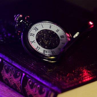 Clock, Numbers, Wrist Watch, Measurement, Retro