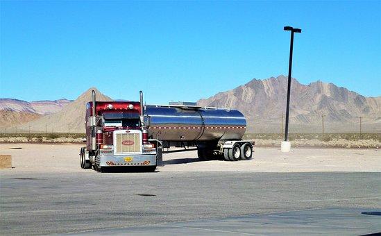 Transport, Vehicle, Truck, Outdoor, Trailer, Parking