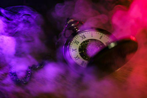 Clock, Pocket Watch, Time Of, Movement, Pointer
