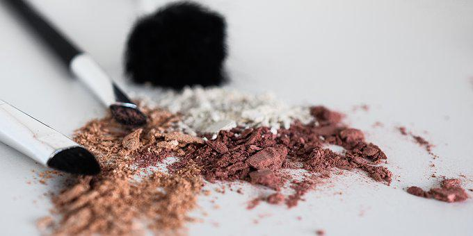 Makeup, Powder, Rouge, Brush