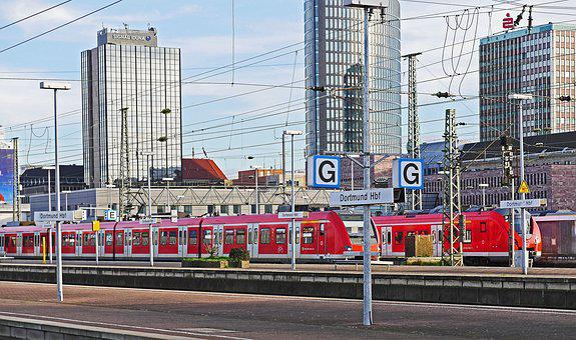 S-bahn Terminal, Dortmund Hbf, Transport