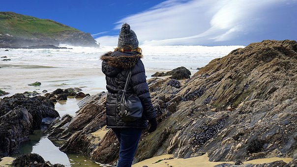 Nature, Water, Rock, Seashore, Travel, Sea, Outdoors