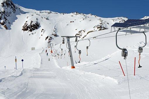 Ski Lift, Skiing, Winter, Ski Area, Ski Run
