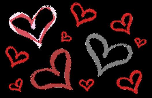 Hearts, Heart, Valentine's Day, Love, Sweethearts