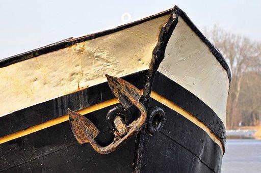 Anchor, Bow, Ship, Hull, Nautical, Boat, Vessel