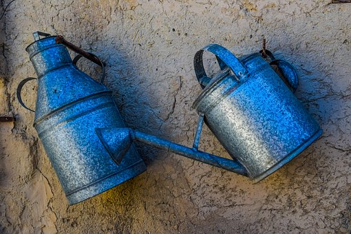 Liquid Containers, Metallic, Traditional, Wall, Storage