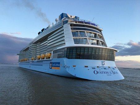 Waters, Travel, Sky, Sea, Weser, Cruises, Water