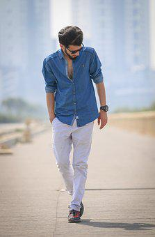 Outdoors, Man, Leisure, Adult, Fashion, Wear, Nature