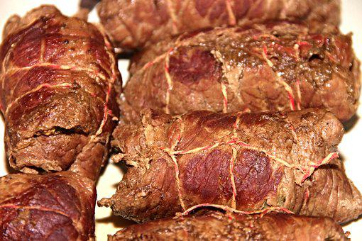 Roulades, Beef Roulades, Beef, Meat Rolls, Main Course
