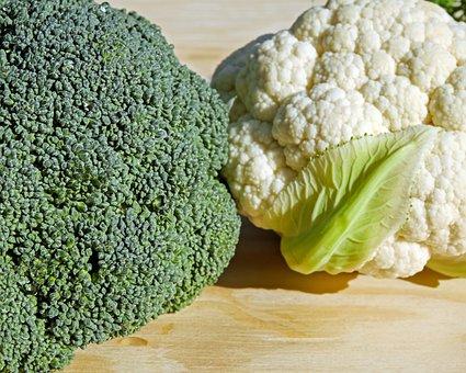 Broccoli, Cauliflower, Vegetables, Bio, Healthy
