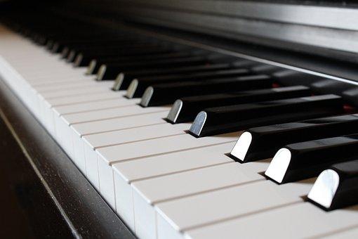 Piano, Ivory, Ebony, Synthesizer, Sound, Harmony, Chord