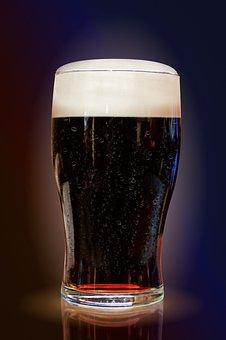 Beer, Beverages, Dark, Alcohol, Cold, Refreshment