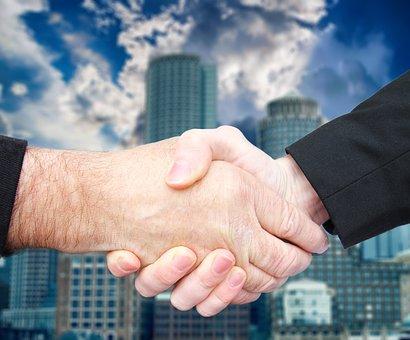 Handshake, Business, Deal, Agreement, Partnership