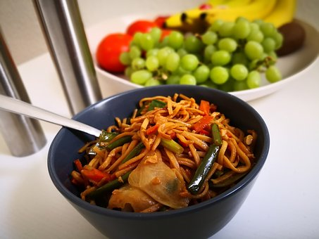 Meal, Court, Food, Lunch, Noodles, Eat Healthy, Eat