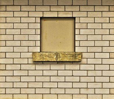 Sand-lime Brick, Window, Facade, Stone Wall, Wall