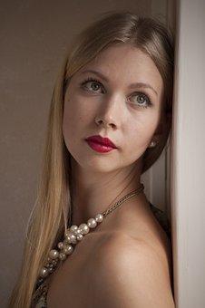 Portrait, Woman, Fashion, Glamour, Beautiful, Natural