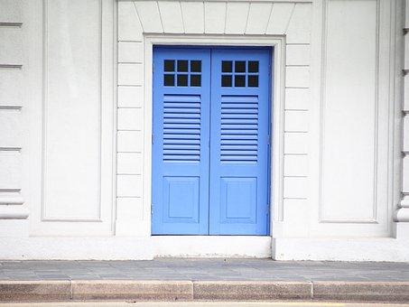 Door, Entrance, Doorway, House, Family, Wood