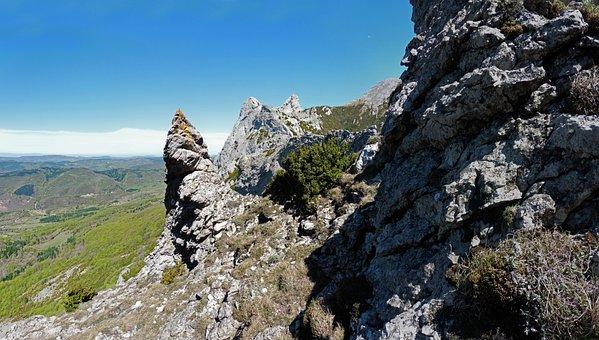 Nature, Rock, Mountain, Landscape, Sky, Mountain Peak