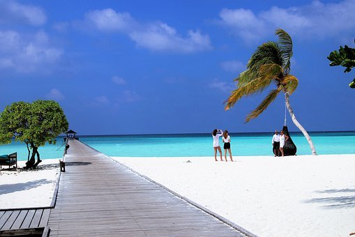 Holiday, Maldives, Paradise, Colors, The Tropical