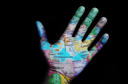 World, Travel, Map, Design, Hand, Black Travel