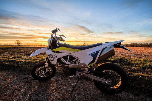 Earth, Motorcycle, Sunset, Motorcycling, Road, Bike