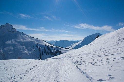 Snow, Winter, Mountain, Cold, Panorama, Mountain Summit