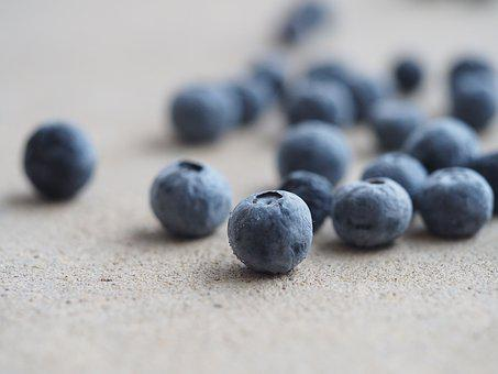 Blueberry, Berry, Food, Health, Closeup, Fruit, Nature