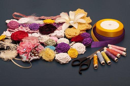Desktop, Color, Needle, Yarn, Craft, Sewing, Decoration