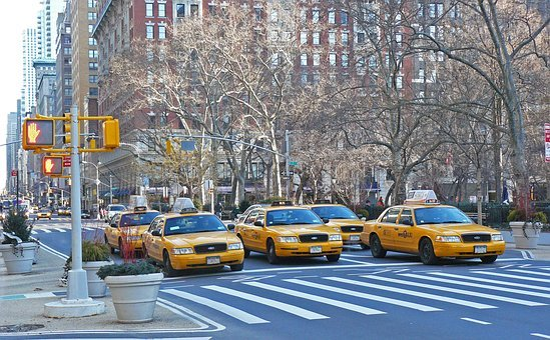 Nyc, New York, Taxi, America, Symbol, City, Street