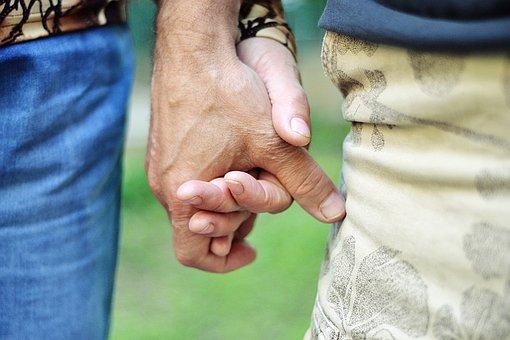 People, Adult, Man, Woman, Hand, Wear, Outdoors, Love
