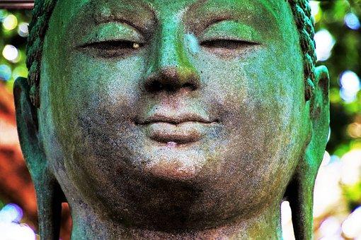 Buddha, Portrait, Face, People, One, Religion
