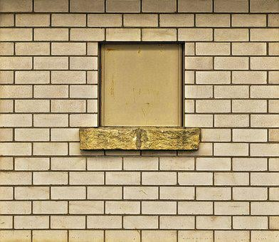 Sand-lime Brick, Window, Facade, Stone Wall, Wall