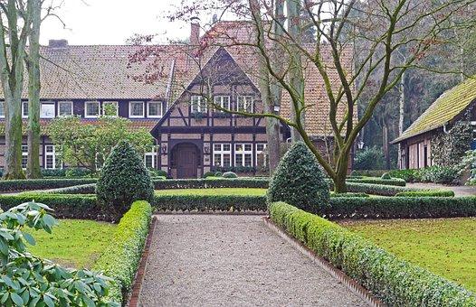 Country Inn, Truss, Clinker, Garden, Rush, Home, Tree