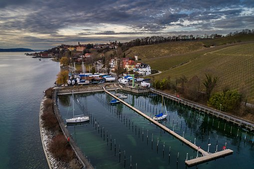 Port, Waters, Travel, Transport System, River, Coast