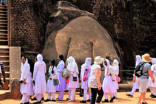 Sigiriya, Religion, Woman, Travel, Girl, Adult