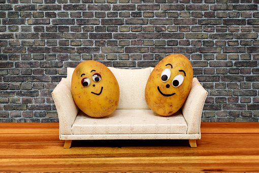 Wood, Couch Potatoes, Funny, Potatoes, Lazing Around
