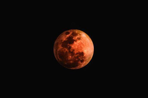 Moon, Astronomy, Luna, Lunar, Eclipse, Crescent