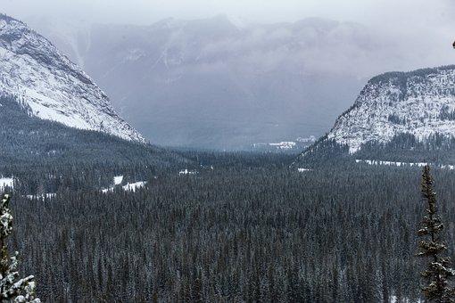 Snow, Mountain, Nature, Landscape, Travel, Banff