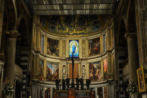 Church, Art, Religion, Architecture, Cathedral, Pisa